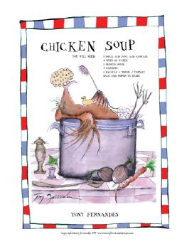 Chicken Soup - signed print